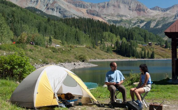 Picking a Campsite in Colorado