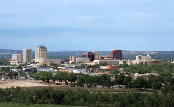 The Colorado Springs area