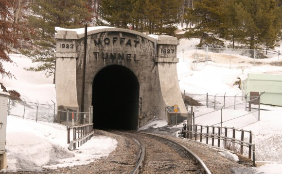 Moffat Tunnel the west