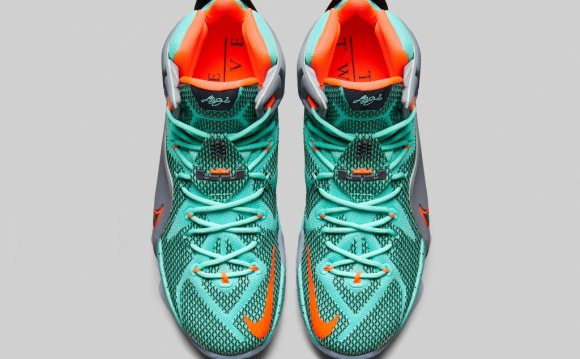 Nike LeBron 12 Top View