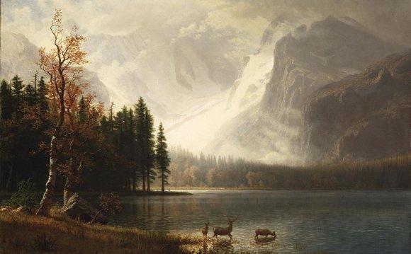 Estes Park - Albert Bierstadt