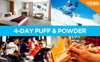 2-person 4-day Puff & Powder Package