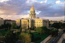 Colorado State Capitol creating in Denver