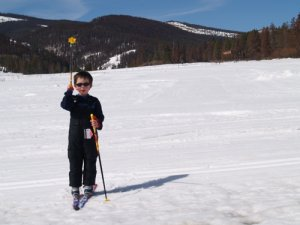 cross-country Skiing at Snow hill Ranch, Colorado