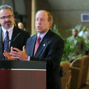 photo - Mayor John Suthers stated he was