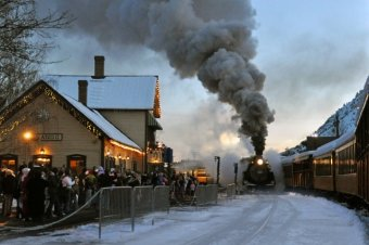 Polar Express gets to the section Durango