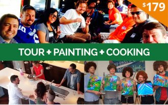 Puff Pass and Paint + Marijuana Cooking Package