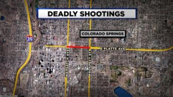 SPRINGS SHOOTINGS RAMPAGE map