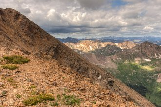 just take a detour: Trailheads to Mt Ebert are easily available out of this course. Image by Greg Willis / CC BY-SA 2.0