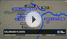 Colorado flood map | Detroit Free Press