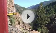 Durango Train Ride to Silverton Colorado Hi-Def