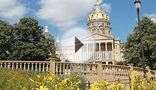 Iowa State Capitol: Iowa Tourism Map, Travel Guide, Things